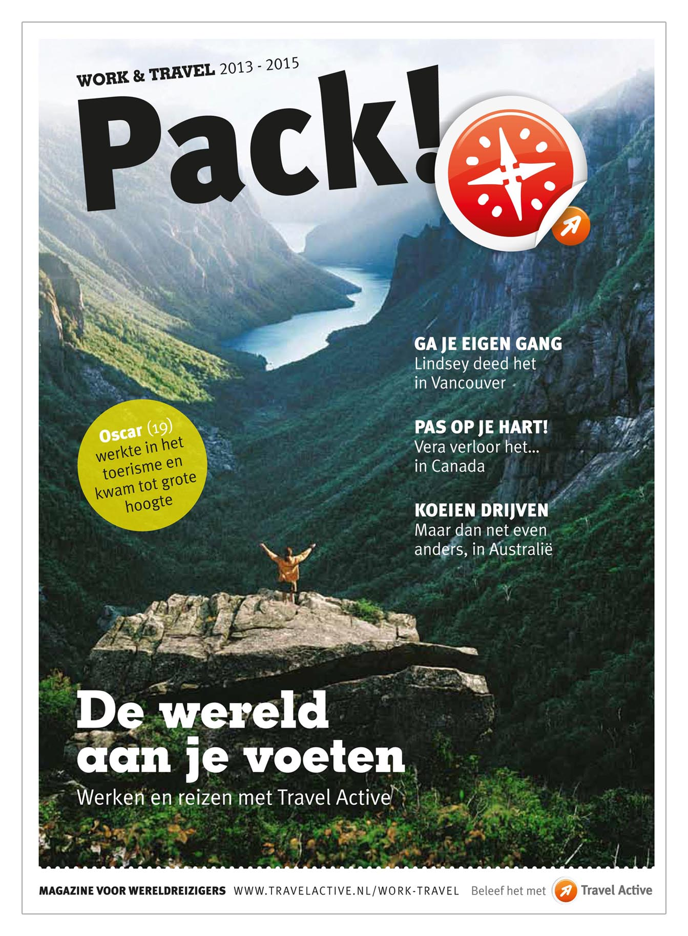 Gratis backpack magazine
