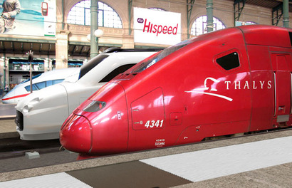 weekend naar parijs met de trein