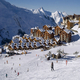 wintersport in Les menuires