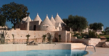 Trullo's in Italie